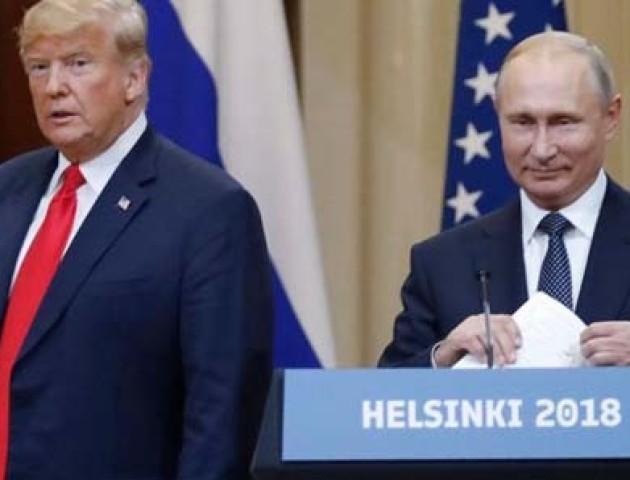 Трамп не визнав анексію Криму на зустрічі з Путіним