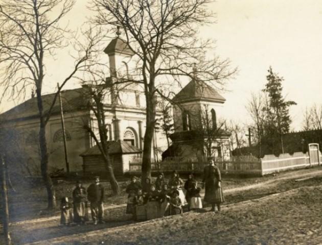 Унікальна знахідка: сільська церква у селі на Волині  на старих фото
