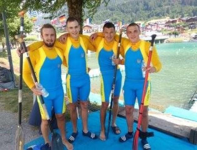 Волинські веслувальники вибороли золото на чемпіонаті Європи