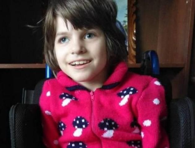 На Волині маленька дівчинка бореться за життя одразу з двома хворобами
