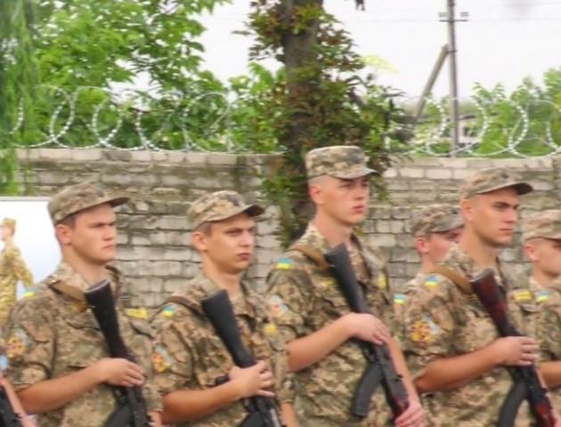 Луцький НТУ випустив перших курсантів кафедри військової підготовки. ВІДЕО
