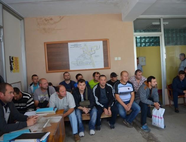 Депутати облради  зустрілися з  нововолинськими гірниками