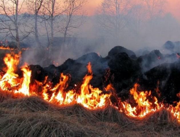 На Волині - надзвичайний рівень пожежної небезпеки
