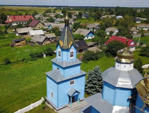 Волинське село - з висоти пташиного польоту. ФОТО