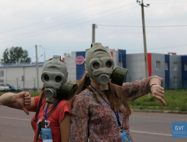 У Нововолинську містяни нарікають на огидний запах