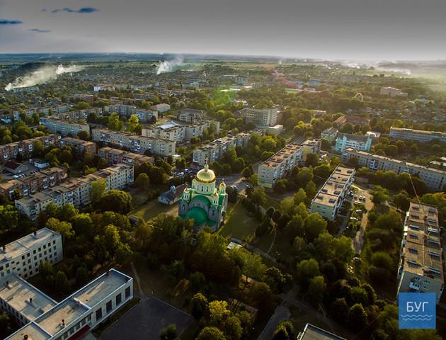 Нововолинськ - з висоти пташиного польоту. ФОТО. ВІДЕО