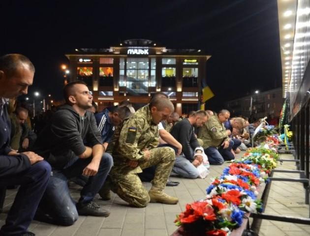 У Луцьку вшанували загиблих під Іловайськом. ФОТО