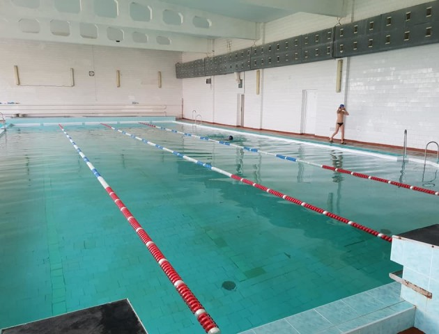 Показали, як у Луцькому НТУ відреконструювали басейн. ФОТО
