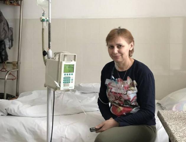 Волинянці, яка два роки бореться з раком, потрібні кошти на операцію за кордоном