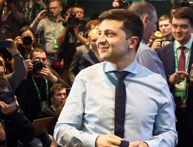 Володимир Зеленський представив свою команду