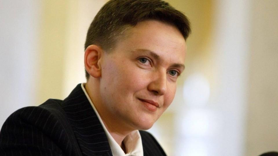 Савченко оголилася та пообіцяла піти в президенти