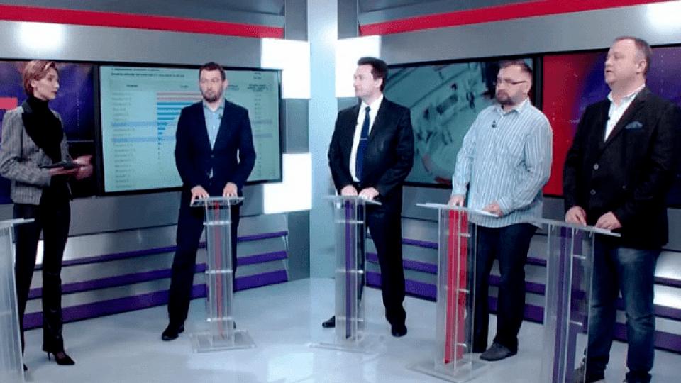 У Луцьку розбиралися, хто на виборах голосував за Зеленського, а хто підтримав Порошенка