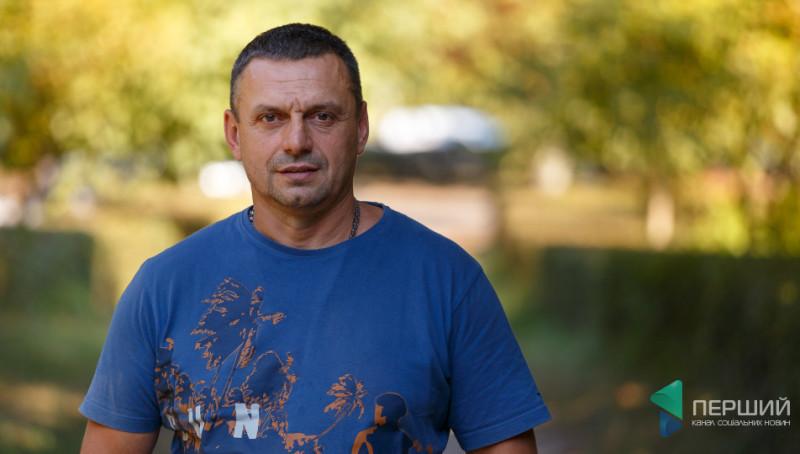 Спортсмен Руслан Роговський